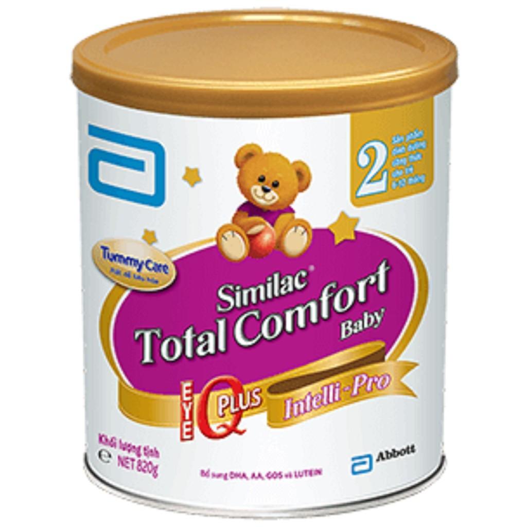 Sữa bột Similac Total Comfort 3 (820g) - 3100135 , 1176061850 , 322_1176061850 , 540500 , Sua-bot-Similac-Total-Comfort-3-820g-322_1176061850 , shopee.vn , Sữa bột Similac Total Comfort 3 (820g)