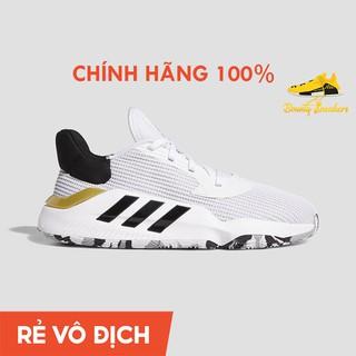 Giày Sneaker Bóng Rổ Nam Adidas Pro Bounce 2019 Low Ef8805 Cloud White Gold - Hàng Chính Hãng - Bounty Sneakers thumbnail