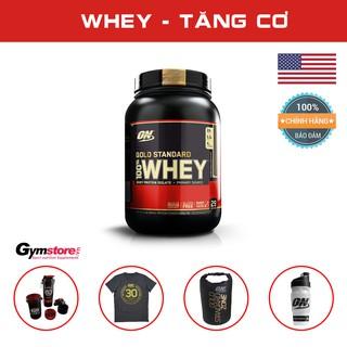 Sữa tăng cơ Whey Protein ON Gold Standard 100% Whey 2Lbs, (908 gam)