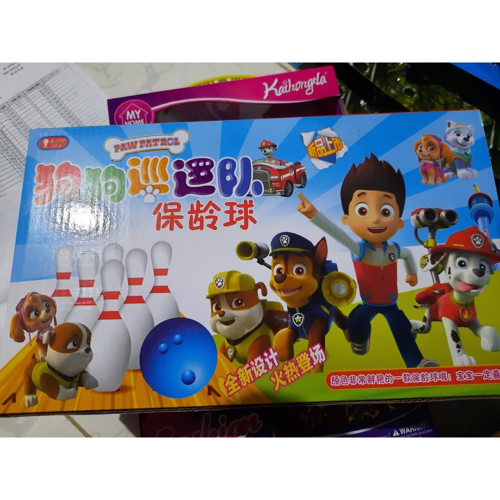 đồ chơi trẻ em ( vỉ boling những chú chó cứu hộ cực dễ thương )