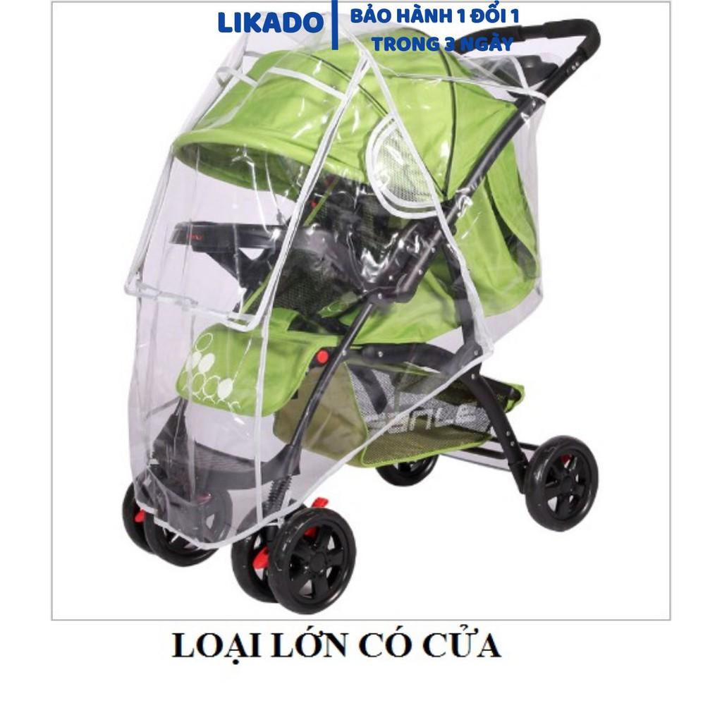 Áo trùm mưa xe đẩy trẻ em nhiều kích thước