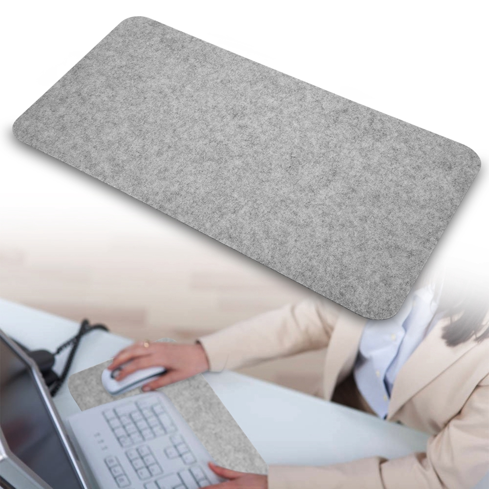 Felts Table Mouse Pad Office Desk Laptop Mat Anti-static Computer PC Pads 68x33cm Digital Products Giá chỉ 76.000₫