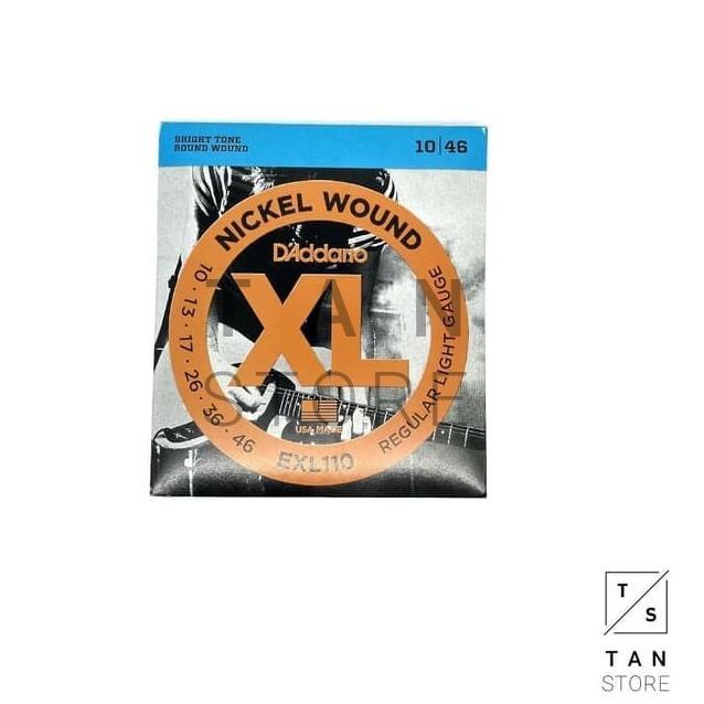 Dây Đàn Guitar Điện D 'addario Exl130 Exl120 Exl110 Chất Lượng Cao