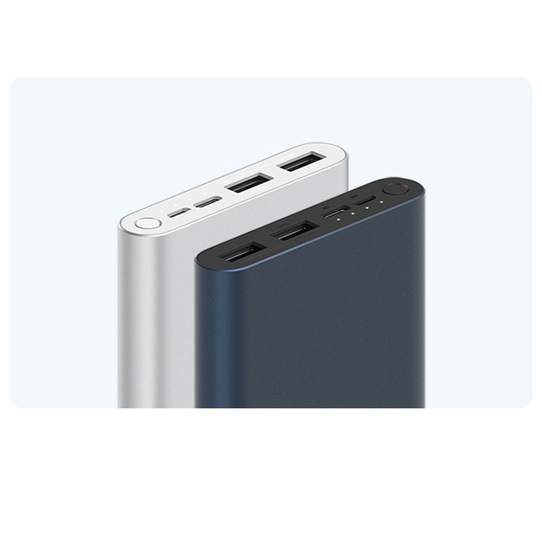 Cục Sạc Dự Phòng - Pin Sạc Dự Phòng Xiaomi gen 3 10000mAh - Sạc thường - Chuẩn dung lượng