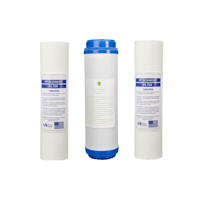 Bộ Lõi lọc số 1,2,3 cho Máy lọc nước Midea MWP-S0620MR,S0820MR,S0920MRs