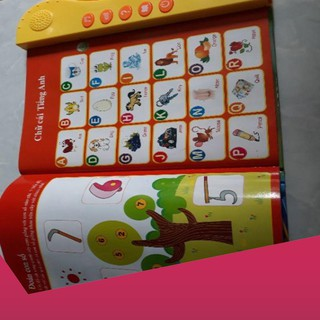[Giảm 9k cho đơn từ 99k]Sách song ngữ cho trẻ em .