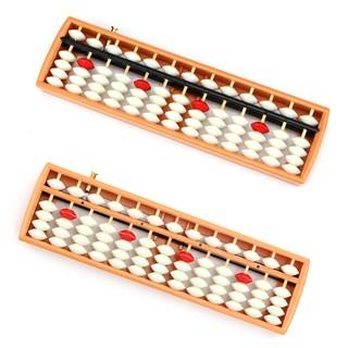 Combo 10 bàn tính gẩy 13 cột có nút bấm giúp bé học toán nhanh Soroban cho bé mẫu giáo 4-6 tuổi
