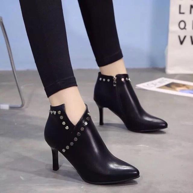 Boot nữ mẫu đẹp ( cao 7cm )