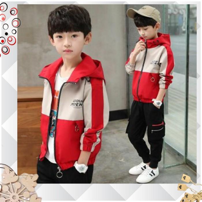 áo khoác cho bé unisex 5 đến 14 tuổi , áo khoác bé trai M875