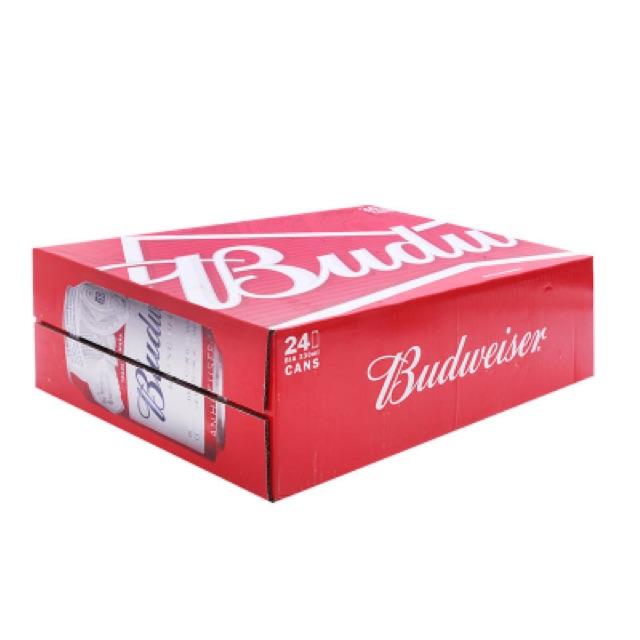 Bia Budweiser 330ml*24lon