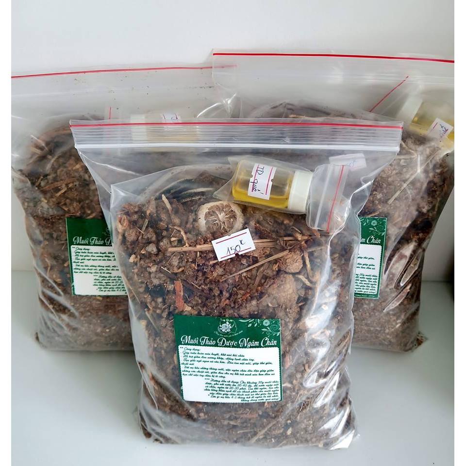 Muối Thảo Dược Ngâm Chân (1kg)