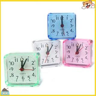 Đồng hồ báo thức vuông mini tiện lợi