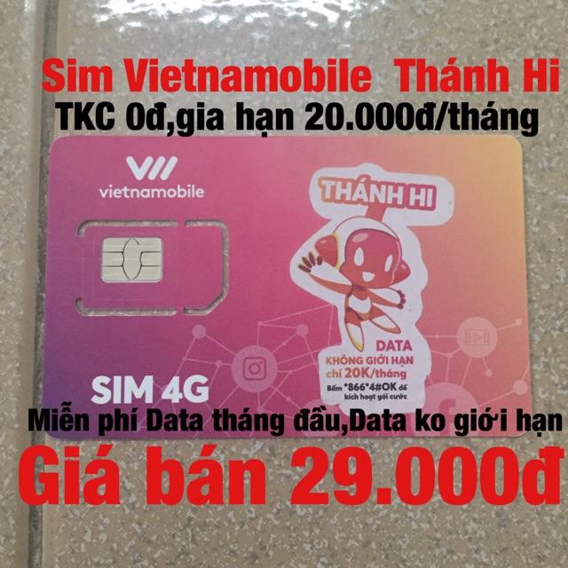 Sim Vietnamobile Thánh Hi Hi