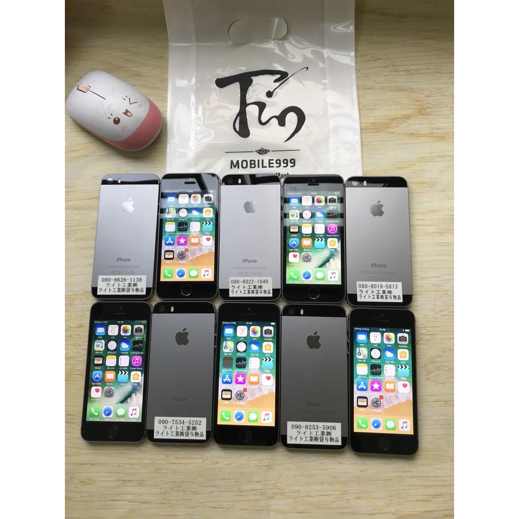 ĐIỆN THOẠI IPHONE 5S LOCK đã FIX lên QUỐC TẾ zin đẹp như mới
