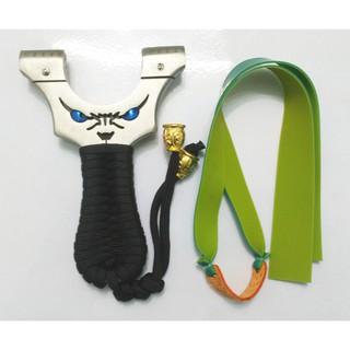 Ná cao su mặt quỷ inox 304 tặng kèm bộ dây( có thước ngắm) .. – nacaosu