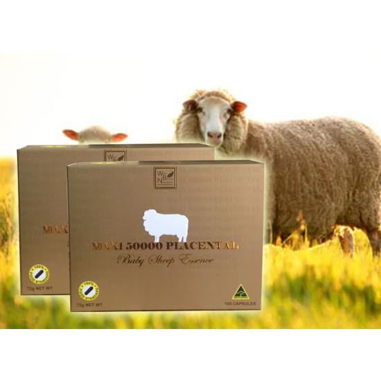 Nhau thai cừu Maxi 50000 Placetal Baby Sheep Essence của Úc