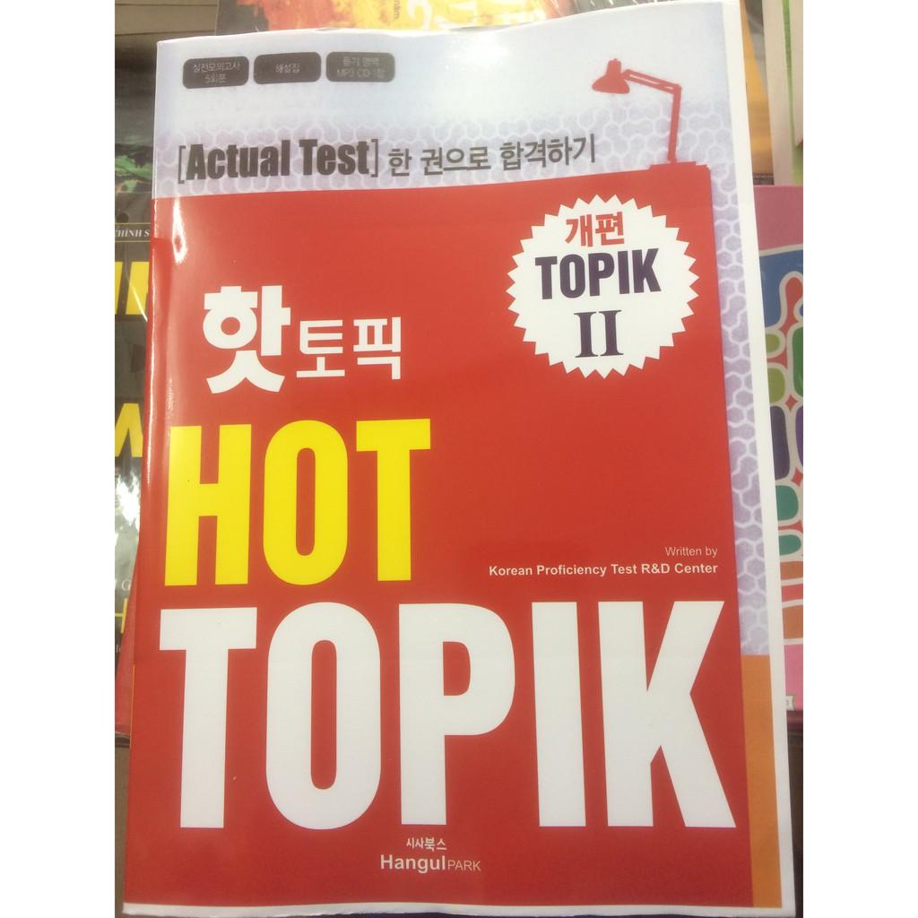 Sách Hot Topik II - Kèm CD