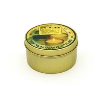 Combo 4 nến tin thơm hương sả chanh đuổi muỗi Quang Minh Candle RID1496 (Xám)