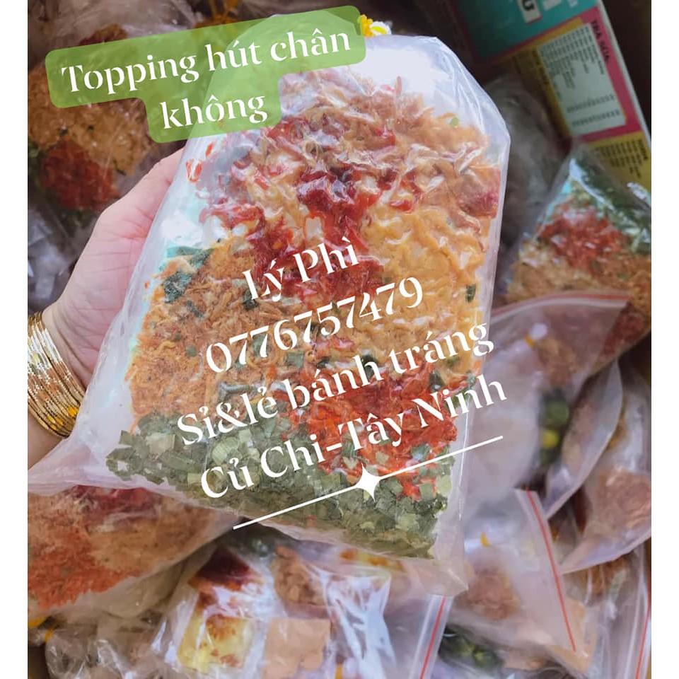 Bánh tráng trộn thập cẩm chà bông Tây Ninh