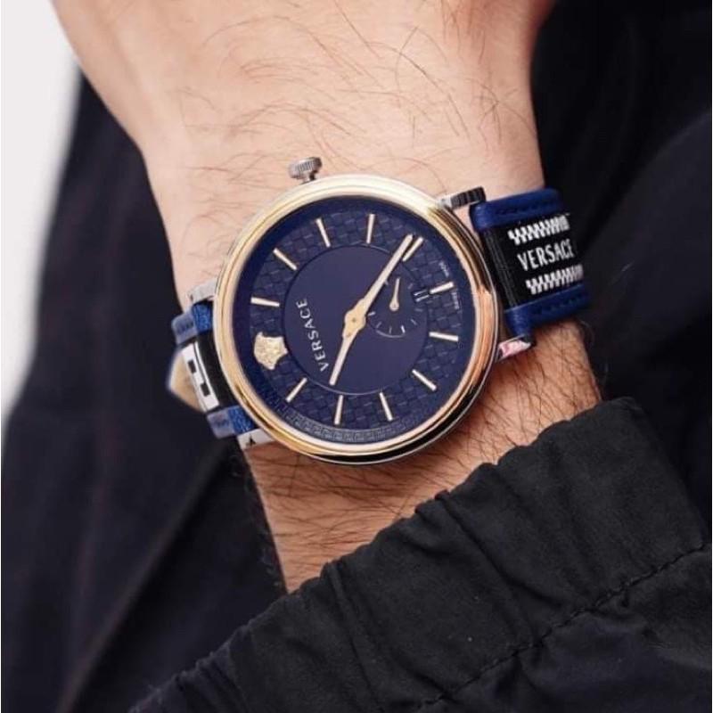 Đồng hồ nam Versace V-Circle Greca