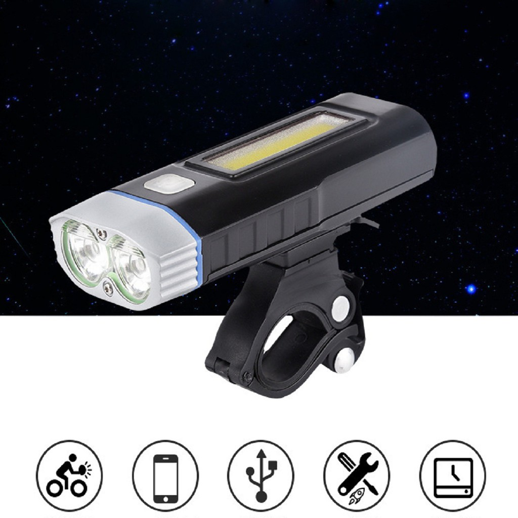 Đèn Đa Năng HJ048   Đèn Gắn Xe Đạp Trang Bị COB LED Siêu Sáng Kết Hợp Sạc  Dự Phòng Điện Thoại giảm chỉ còn 400,000 đ