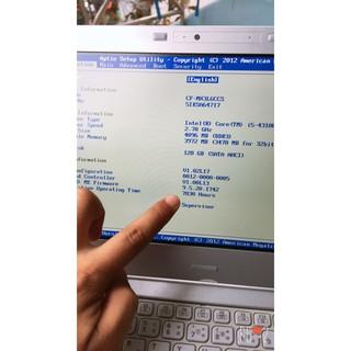 Laptop #Panasonic CF-MX3 Core i5 đẳng cấp doanh nhân