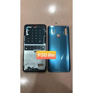 bộ vỏ Huawei P30 lite (gồm lưng, sườn và phím bấm)