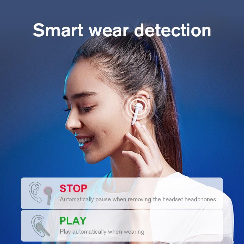 Tai nghe không dây TWS Haylou T19 bluetooth 5.0 thời gian sử dụng 30h | Shopee Việt Nam