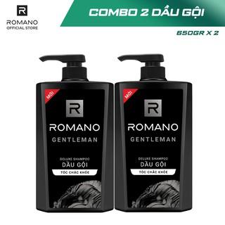 Hình ảnh [Mã COSWIP -8% đơn 250K] Combo 2 Dầu gội Romano hương nước hoa 650g x 2-1