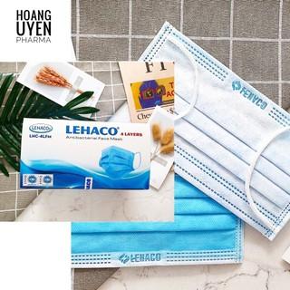 Khẩu trang y tế kháng khuẩn Lehaco đủ màu - Hộp 50 cái thumbnail