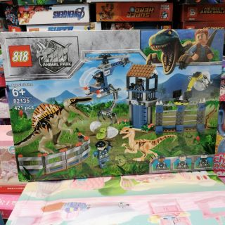 [82135] Bộ đồ chơi Lego Công viên khủng long