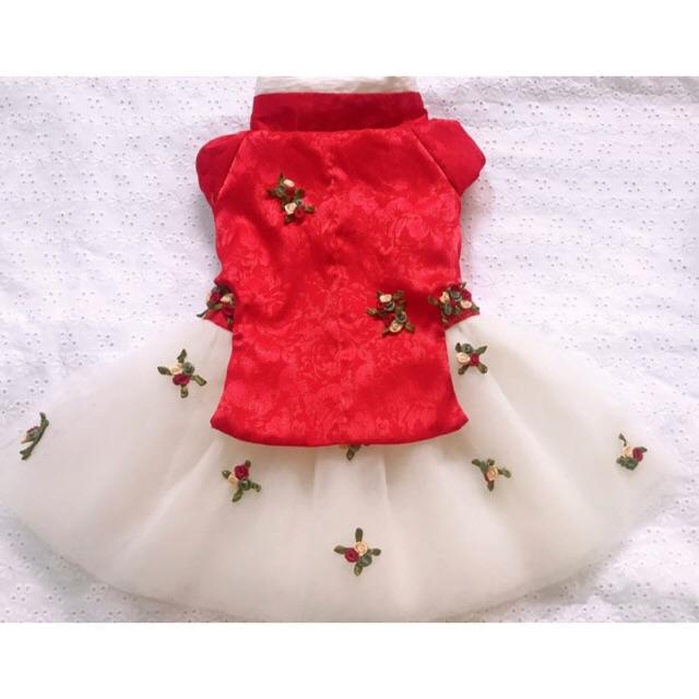 Hanbok trắng - (Hàng đặt may)