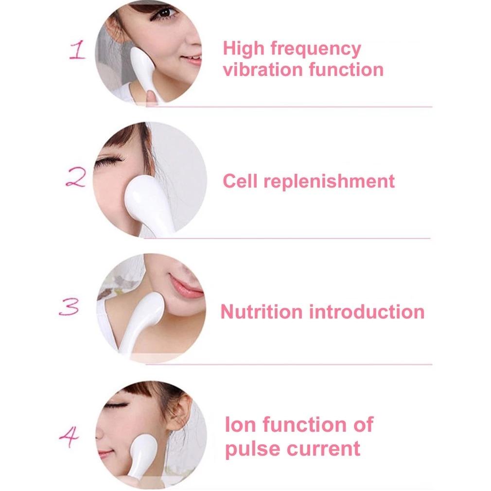 (Hàng Mới Về) Máy Rửa Mặt Massage Làm Sạch Lỗ Chân Lông Chăm Sóc Da