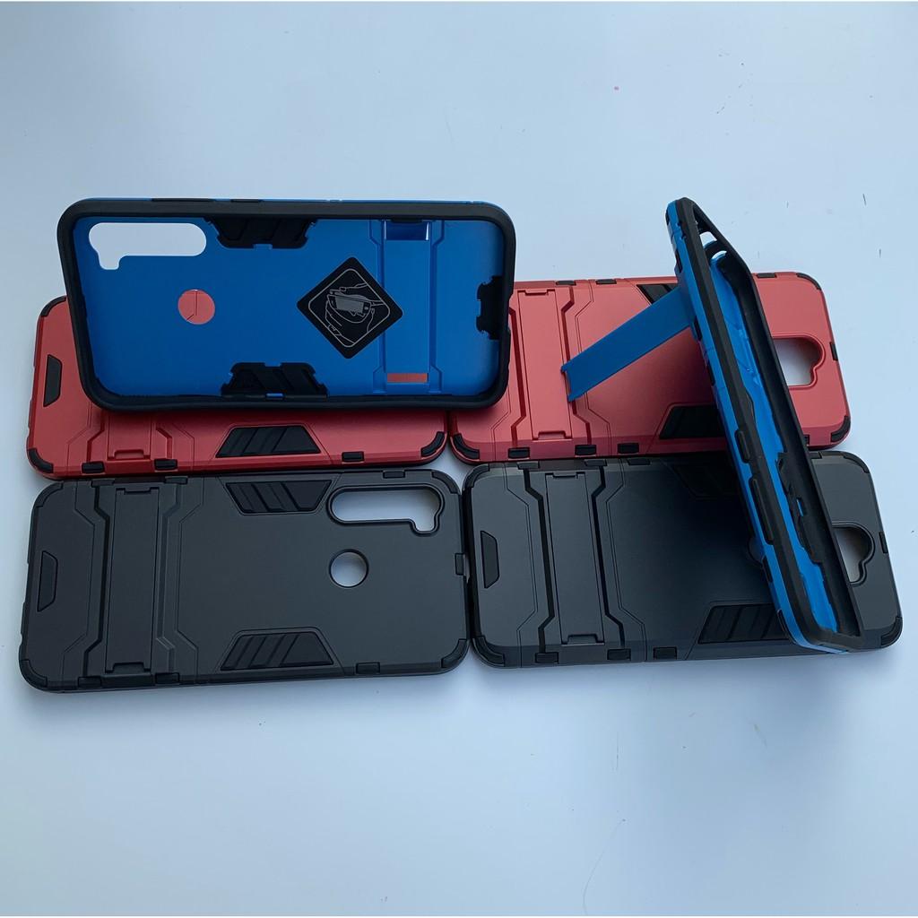 Ốp Lưng IRON MAN Redmi Note 9 / 9s / Redmi Note 8 / Redmi Note 7 / Note 8 Pro Nhựa PC Cứng Viền Dẻo Chống Sốc