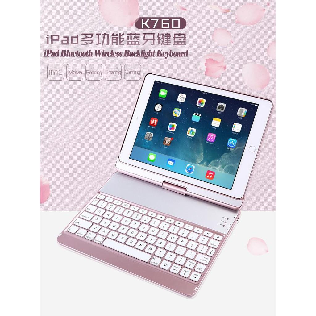 Bàn phím đèn nền LED không dây Bluetooth Emers K760 Apple iPad 9.7Inch Giá chỉ 855.000₫