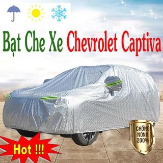 Yêu ThíchBạt phủ ô tô #Chevrolet Captiva - CAO CẤP 3 LỚP Cách Nhiệt, Bạt phủ xe ô tô (hàng cao cấp)