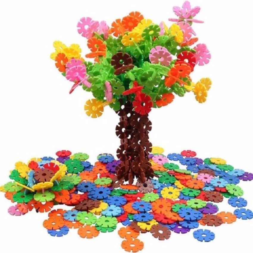 Đồ chơi xếp hình hoa 400 chi tiết