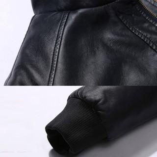 Hình ảnh Áo khoác da lót lông LADOS-105, da cao cấp, không nổ không bong tróc - HÀNG CHÍNH HÃNG-4