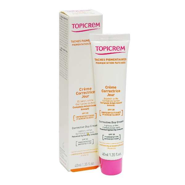 Kem dưỡng sáng da ban ngày - Corrective Day Cream SPF20 40ml - Topicrem