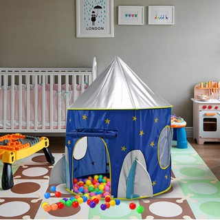 babifry Cloth Outer Space Ship Folding Toy Tent Yurt Children Play House Kids Gifts