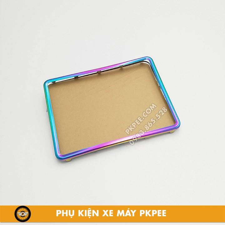 Khung, Viền Ốp Biển Số-Bảng Số Xe Máy Inox
