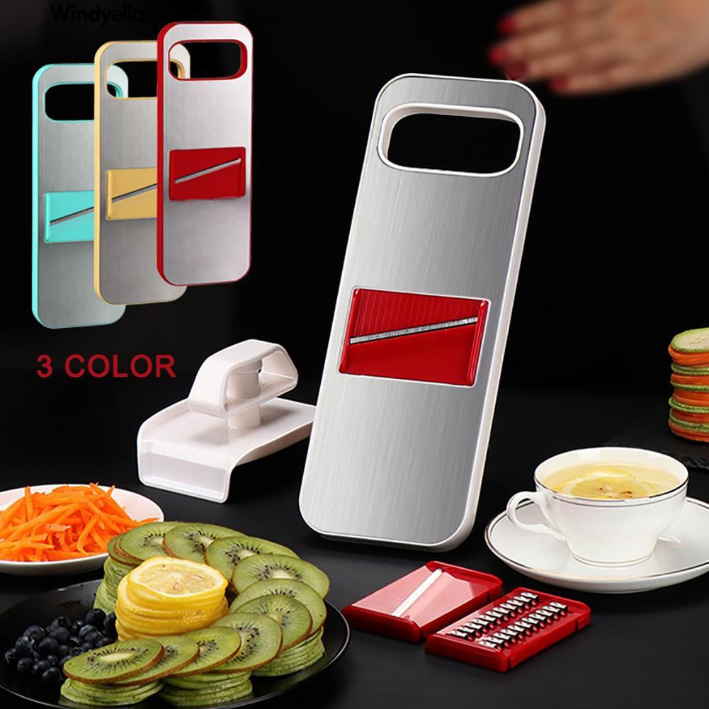 >>Slicer 3-in-1 Stainless Steel VegeCutter Food Grater Tool