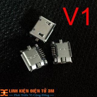 Cổng Micro USB 5P Nhiều Loại