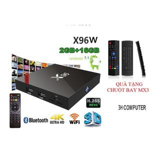 [Mã ELMS05 giảm 5% đơn 300k]TIVI BOX X96W BLUETOOTH TẶNG CHUỘT BAY MX3