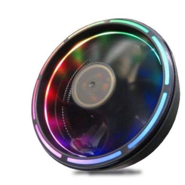 FAN TẢN NHIỆT CPU LETO II, LED RGB 16 TRIỆU MÀU, 366 HIỆU ỨNG – TỰ ĐỘNG ĐỔI MÀU KHÔNG CẦN HUB Giá chỉ 135.000₫