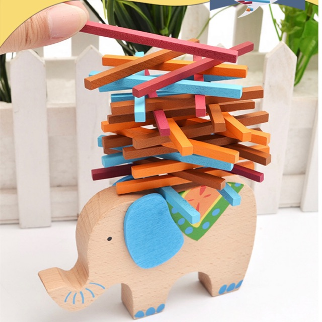 Đồ chơi gỗ cân bằng