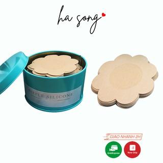 Hộp 60 miếng dán ngực giấy lụa 164-Ha Song Shop tàng hình giá rẻ tiện lợi thumbnail