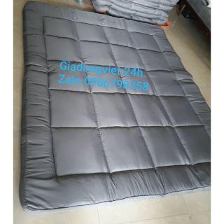 Nệm Topper 1m6x2m dày êm/ nệm cuộn trải sàn ngủ gấp gọn.