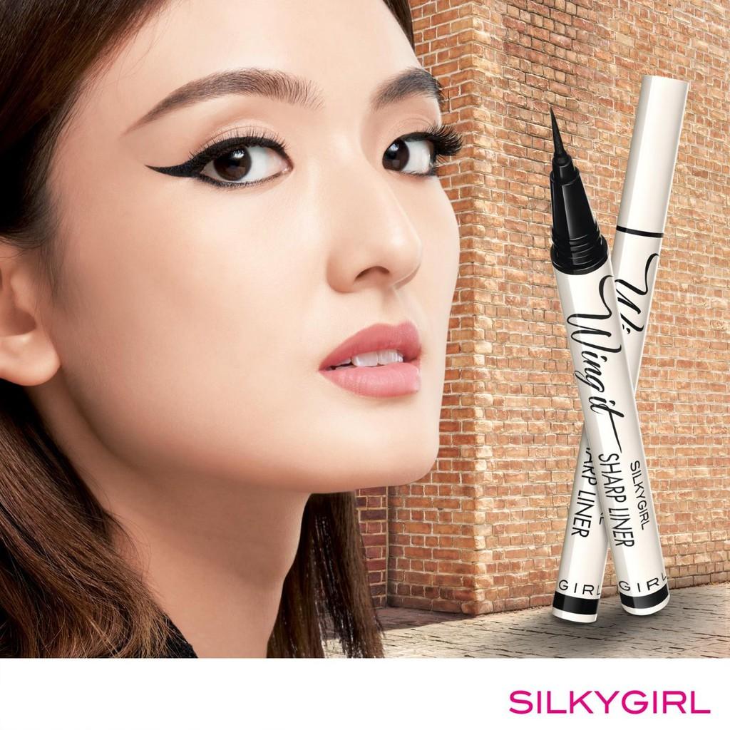 Bút Kẻ Mắt Nước Lâu Trôi SILKYGIRL Wing It Sharp Eyeliner 0.5g | Shopee  Việt Nam