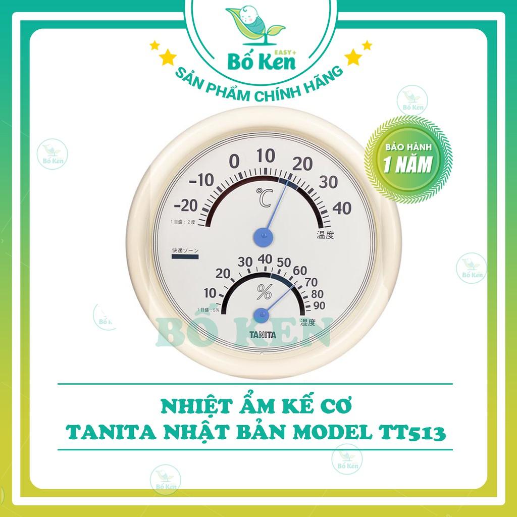 Shop Bố Ken Nhiệt Ẩm Kế Cơ Tanita Model TT513